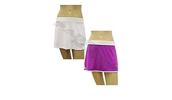 ASICS Falda W`S Padel Reversible Skirt 113433 0001: Amazon.es ...