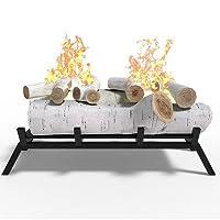 Birch Ethanol Fireplace Log Conversion K...