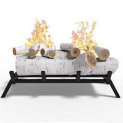 Birch Ethanol Fireplace Log Conversion Kit (Gel Logs)