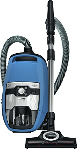 Miele Blizzard CX1 Turbo Team Bagless Canister Vacuum Tech Blue (41KCE042USA) (Blue Turbo)