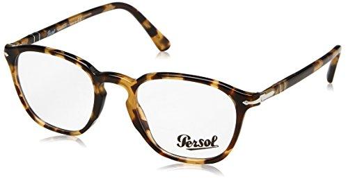 Persol Men's PO3178V Eyeglasses Brown/Beige Tortoise ()
