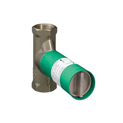 Hansgrohe 15977181 Axor Rough Volume Control Valve, 3/4-Inch from Hansgrohe