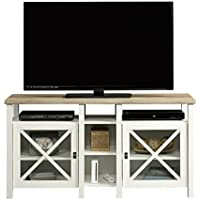 Pemberly Row TV Stand in Soft White