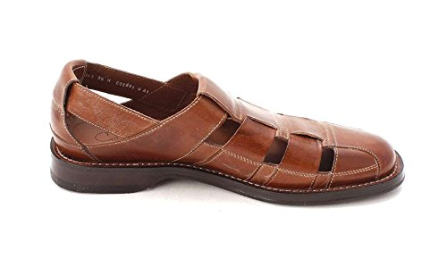 NERUDA Haan Slip Mens On Fisherman Cole Toe Saddle Tan Fisherman Closed Sandals HxEawwqI