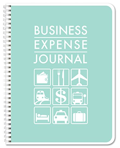 BookFactory Business Expense Journal / Expense Ledger Book 110 pages 8.5