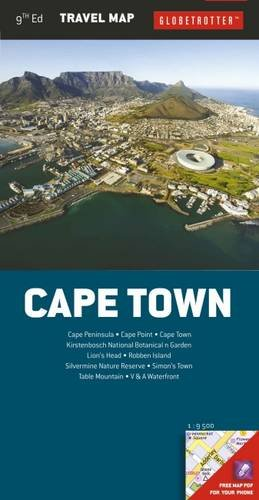 Globetrotter Travel Map - Cape Town Travel Map, 9th (Globetrotter Travel Map)
