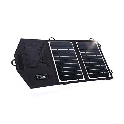 KINGSOLAR™ Camping Hiking Backpacking Portable 8W Solar Panel Foldable solar charger(Black) (Backpacking Solar Panel compare prices)