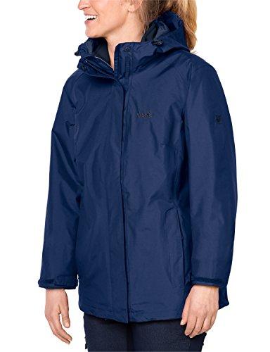 nbsp;giacca nbsp;in Wolfskin Navy Jack 1 Blu Donna nbsp;in 1 3 Iceland nbsp;3 B0xzxZq