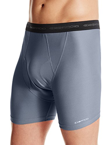 Men's Give-N-Go Boxer Brief Midnight Heather 2XL 2-Pack