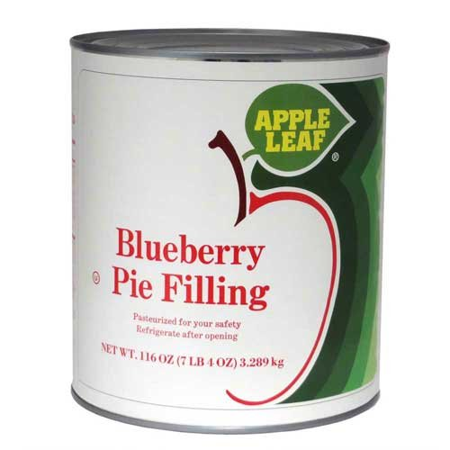 Apple Leaf Blueberry Pie Filling, 116 Ounce -- 6 per case.