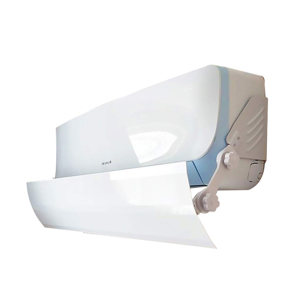 Yingpai-Air Conditioner Deflector Deflettore del condizionatore d'aria Prevenire l'aria fredda dal soffiaggio Lunghezza regolabile diritta adatta a diverse lunghezze di condizionatori d'aria