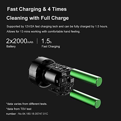 Leepesx Cleanfly Car Cleaner Aspirateur Portable Aspirateur à main collecteur de poussière Aspirateur