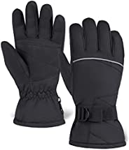 Ski & Snow Gloves - Waterproof Winter Snowboard Gloves for Skiing & Snowboarding - Cold Weather Gloves