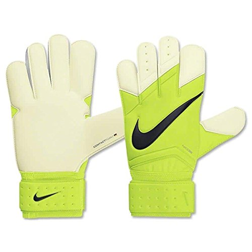 - Nike Men's Goalkeeper Vapor Grip 3 Gloves Volt/Black - 10