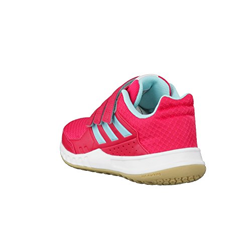 adidas Fortagym Cf K, Zapatillas de Deporte Unisex Niños Rosa (Rosene / Aquene / Ftwbla)