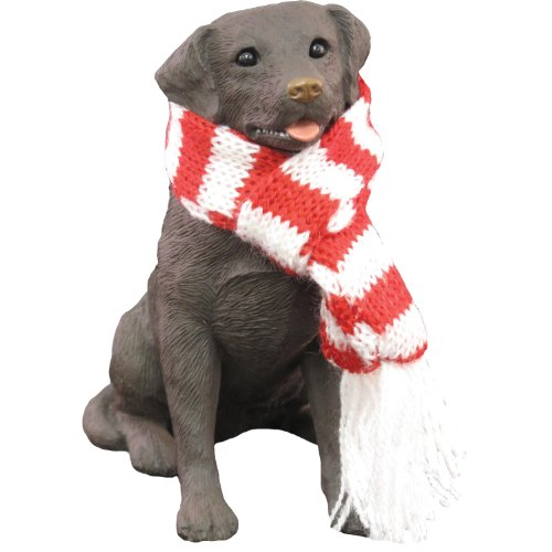 Sandicast Chocolate Labrador Retriever with Red and, used for sale  Delivered anywhere in Canada