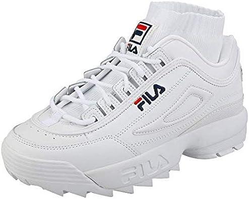 Disruptor Evo Sockfit Sneakers, White