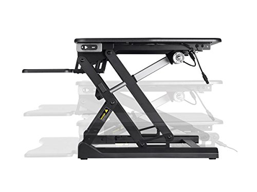 Monoprice Electric Height Sit Top/Desk | x 35.4 Inch - Collection