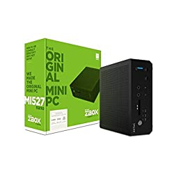 Zotac System Zbox-mi527nano-u Intel Core I3-7100u Dual Core 2.4ghz 2 X Ddr4-18662133 Sodimm Slot (Up To 32gb) Display