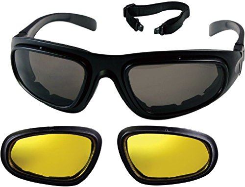 - Interchangeable Lenses Trans Tec Optical System Tactical Eyewear Goggles