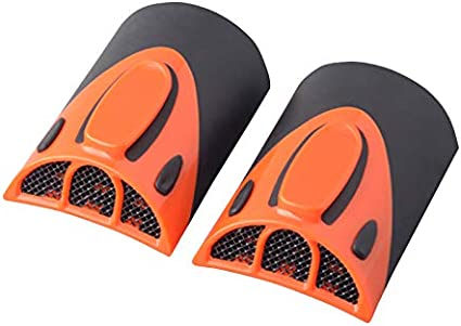 Orange Goldfire 1 Pair Universal Cooling Arm Sleeves Accessories Motorcycle Cooling System Jacket Sleeve Vent for Summer Warm Weather