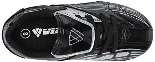 Vizari Striker FG Soccer Shoe (Toddler/Little Kid/Big Kid),Black/Silver,10 M US Toddler by Vizari (Image #8)