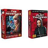Resistance Game Bundle with Resistance Game and Resistance The Plot Thickens Expansion by Indie Boards and Cards (2 Items)
