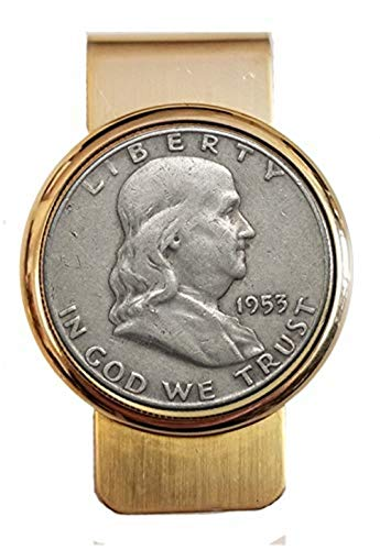 Ben Franklin Half Dollar Money Clip ()