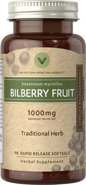 Vitamin Bilberry Concentrated Extract Softgels product image