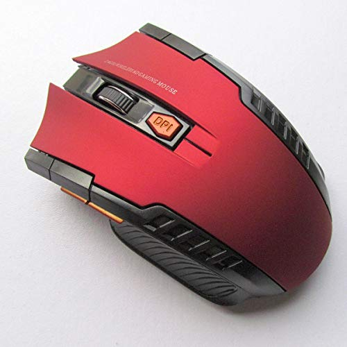 (2.4Ghz 800-1200-2000 DPI Mini Wireless Optical Gaming Mouse Mice& USB Receiver for PC Laptop (Color :)