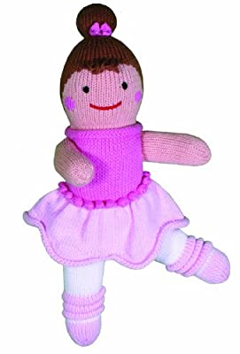 Zubels Ballerina Bella 24-inch Hand-Knit Doll by Zubels