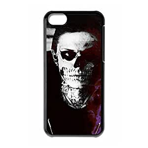 Sophisticated Design Hard Plastic Back Protective Case Shell Cover for iphone 5c Designed by Windy City Accessories