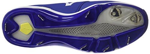 Mizuno Mens Dominant Ic Baseball Shoe Royal White