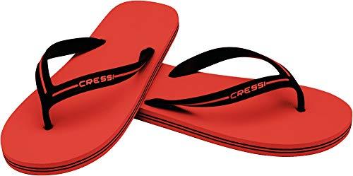 Cressi Flip Piscine Flop Plage Unisex Rouge Sandals BahamasToe Et zVMGqUSp