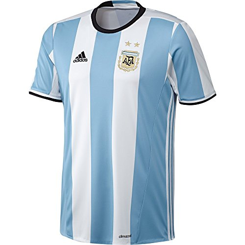 Adidas Soccer Youth Argentina jersey, X-Small, Clear (Argentina Adult Soccer Jersey)