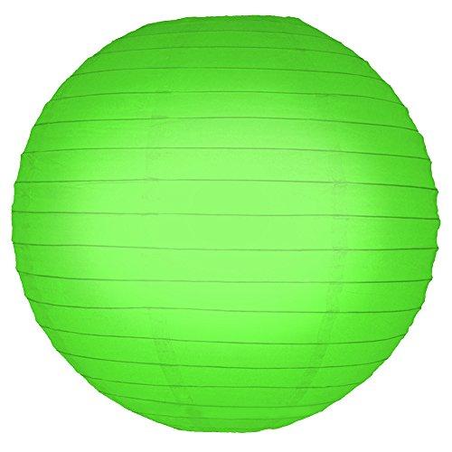 LumaBase-78605-5-Count-Paper-Lanterns-10-Green