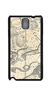 TUTU158600 Cute Cartoon Back Cover cell phone case for samsung galaxy note3 - Stars Constellations of the Northern Hemisphere Geographicus ConstNorth