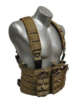 Element Gear Chest Rig Bandolero,Coyote Tan VE-CHE-04 by Element
