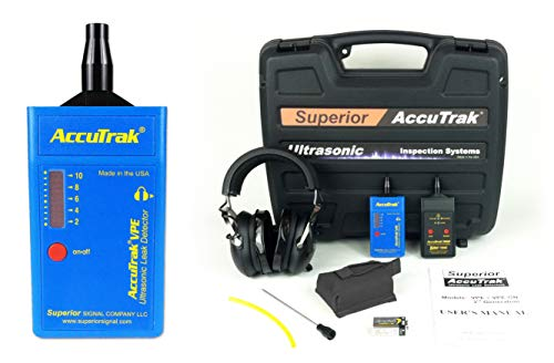 Superior AccuTrak VPE PRO-PLUS Ultrasonic Leak Detector Pro-Plus Kit