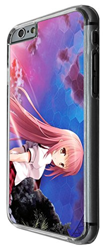 1043 - cool fun cute sexy manga art cartoon kawaii school girls japanese Design For iphone 5 5S Fashion Trend CASE Back COVER Plastic&Thin Metal -Clear