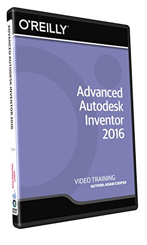 Advanced Autodesk Inventor 2016 - Training DVD by Infiniteskills