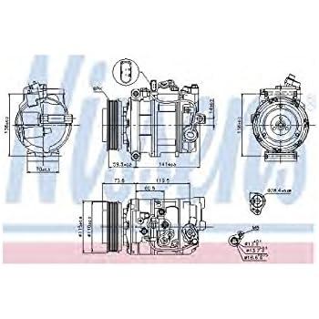 Nissens A/c Compressor 89092