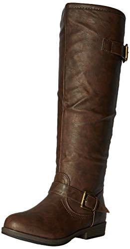Brinley Co Women's Durango, Brown, 6 M US (Boots Riding Brinley Studded)