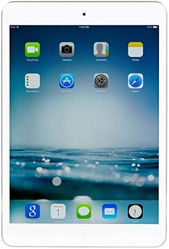 Apple 8-inch iPad Mini 2 with Retina Display (1.30GHz Dual-core Processor, 32GB GB Flash Memory, 1 GB RAM, Wi-Fi, iOS 7 Operating System, White) (Refurbished)