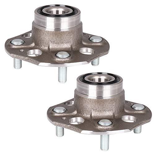 Aintier Rear Wheel Hub Assembly fit for Honda Accord Coupe Sedan 1990-1997 4 Lugs Hub Bearing 513080 x2 ()