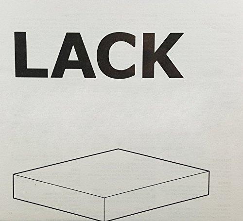 Ikea Kitchen Accessories Uae: Ikea Floating Wall Lack Shelf WHITE