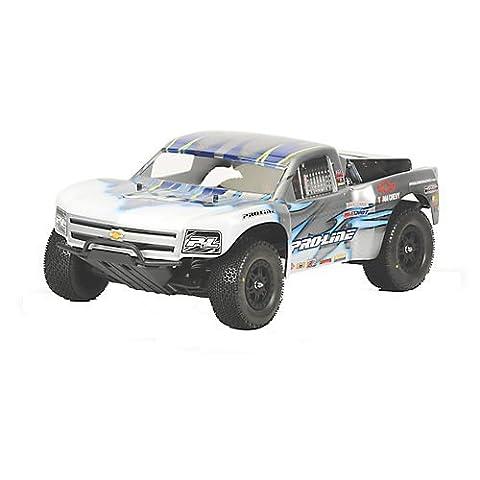 Pro-Line Racing 3307-60 Chevy Silverado 1500 Clear Body (Proline Body Slash 4x4)