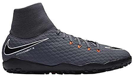 cheap for discount 4ddd6 b6e8f Nike Hypervenom Phantom X III Academy DF TF - Grey/Black ...