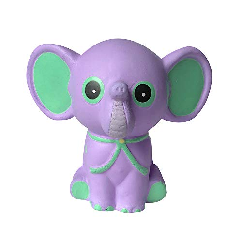 Squishies Jumbo Slow Rising Clearance for Kids! Lovely Collection Toys Kawaii Adorable Elephant Cute Scented Stress Toy Stress Relief Toys (Purple)