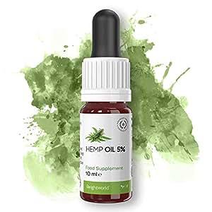 Hemp Oil - Aceite De Cáñamo Orgánico Altamente Concentrado